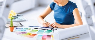 Mixing marketing with interior design