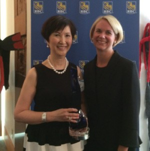 Alice Chung wins RBC top entrepreneur award