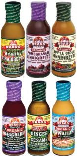 Bragg organic salad dressings and marinades