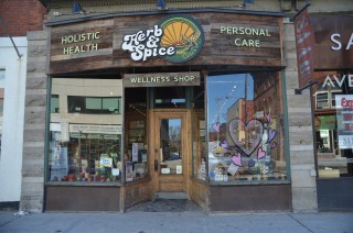 Herb and Spice Wellness Shop