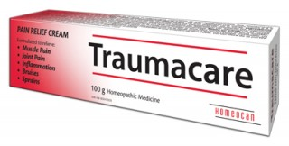 Homeopathic cream to relieve pain