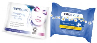 Organic wipes from Natracare