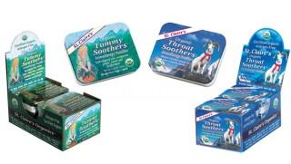 Allergen free aromatherapy pastilles