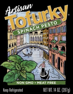 Plant based sausages from Tofurky