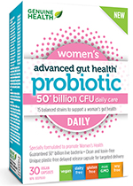Probiotics specifically designed for women
