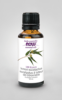 now lemon eucalyptus oil